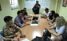 Maíllo aborda con la Marea del Cucharón el «deterioro» de los servicios de la sanidad pública