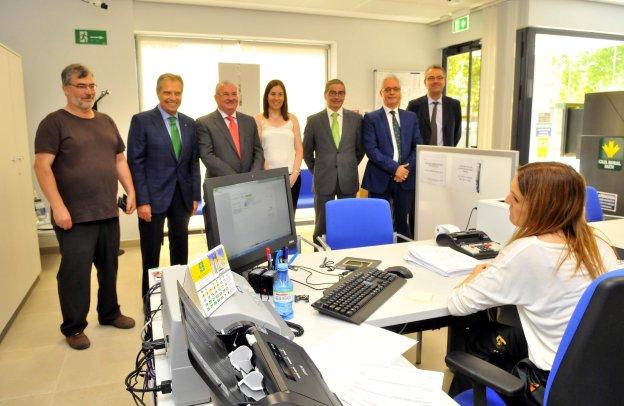 Caja Rural inaugura una nueva sucursal en la Estación Linares-Baeza