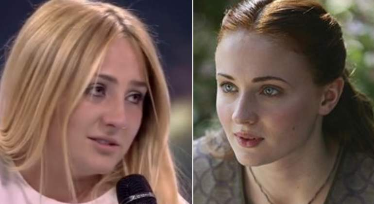El increíble parecido que vincula a Rocío Flores con Sansa Stark