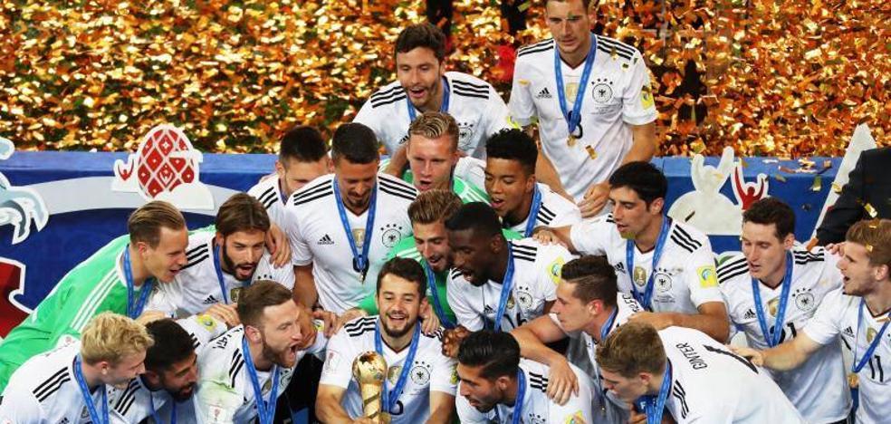 La Alemania B conquista el título ante la 'generación dorada' de Chile