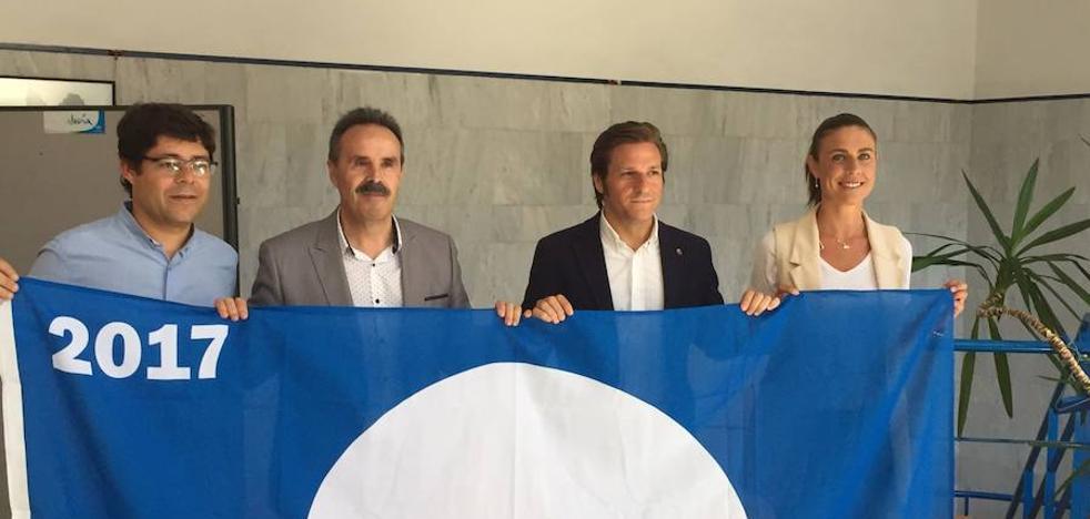 Almería es la segunda provincia andaluza con más banderas azules