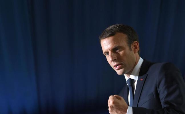 Detenido un hombre que amenazaba con matar a Macron