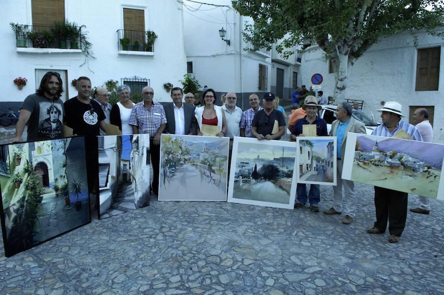 Martín Aranda gana el primer premio del V Certamen de Pintura al Aire Libre La Comarca Alpujarreña