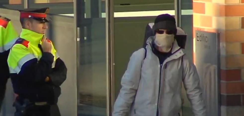 El juez envía a prisión provisional sin fianza al 'loco del chándal'
