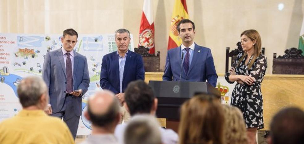 El Consistorio quiere abrir un museo submarino, hacer accesible La Alcazaba y recuperar las canteras