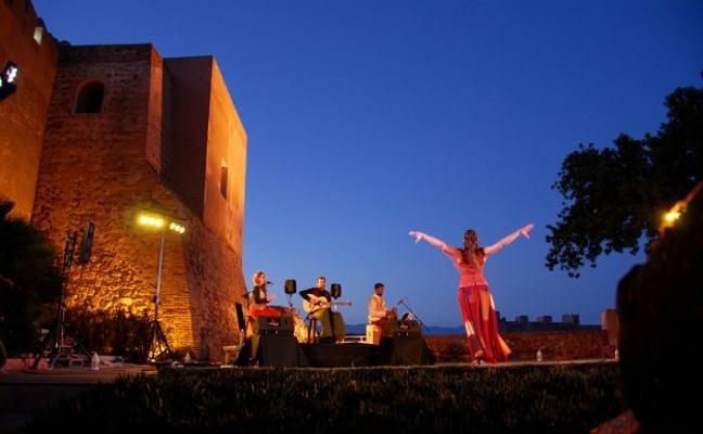 La Alcazaba se convertirá en julio en sala de cine y de visitas teatralizadas