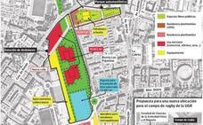 Así es el plan para soterrar el AVE en Granada: 1.900 viviendas y 126.000 metros 'verdes'