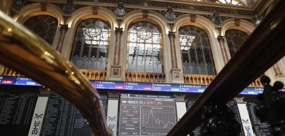 El Ibex cae presionado por los grandes valores