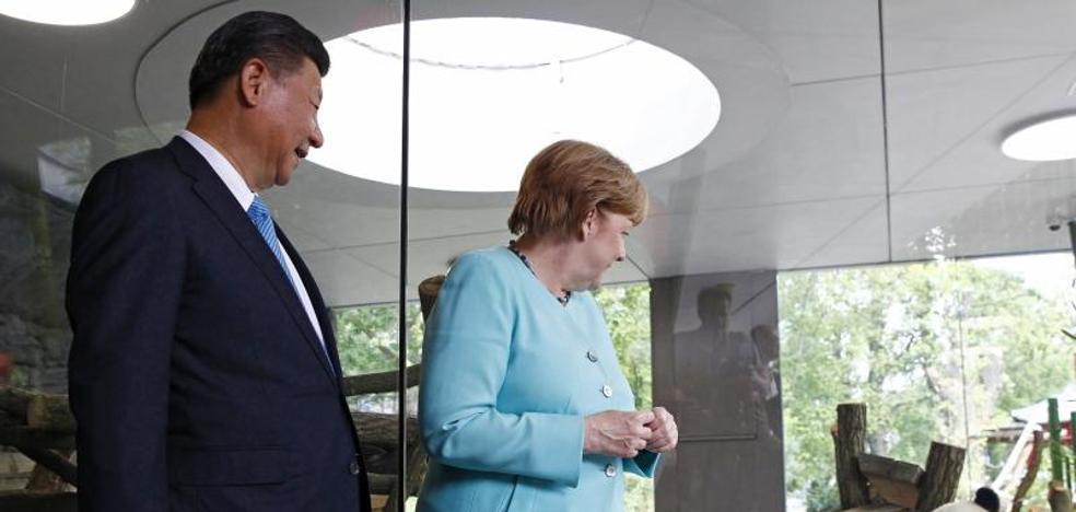 Berlín y Pekín refuerzan su alianza y abogan por la apertura de mercados