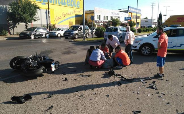 Detienen al conductor que se dio a la fuga tras arrollar a un motociclista
