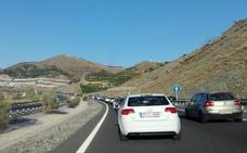 Atasco para volver a Granada desde la Costa