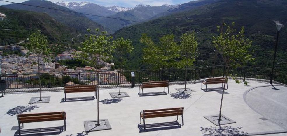 Güéjar Sierra inaugura un mirador dedicado a Miguel Ángel Blanco