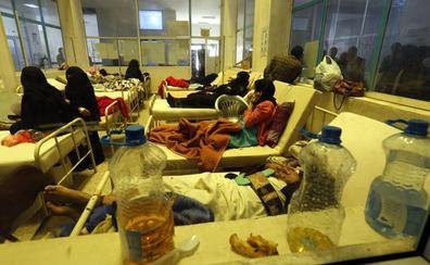 Yemen registra 300.000 casos sospechosos de cólera y 1.700 muertos