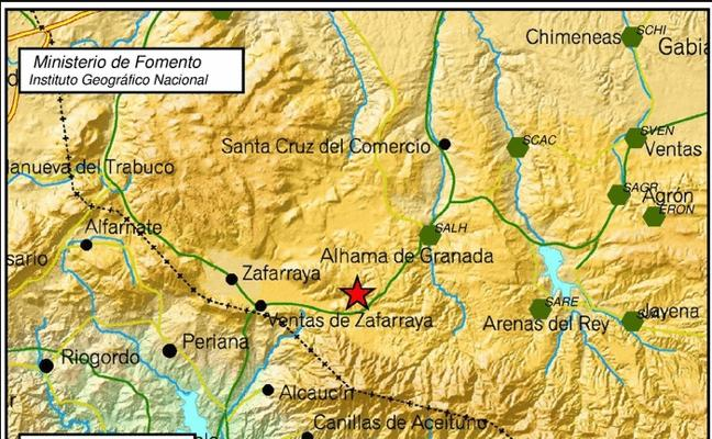 Terremoto en Alhama de Granada