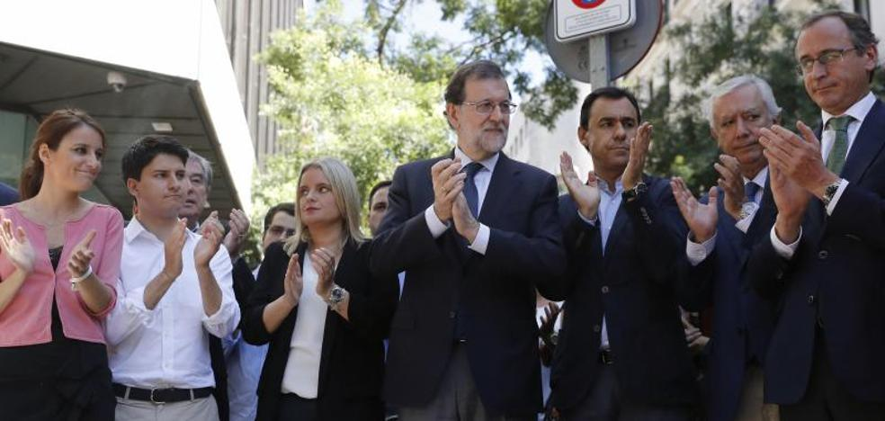 Rajoy reivindica la trascendencia del espíritu de Ermua en la lucha contra ETA