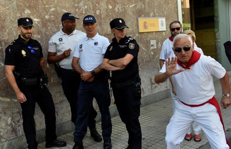 Las imágenes más raras y cómicas de San Fermín