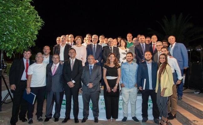 Almería brilla en los Premios de Andalucía