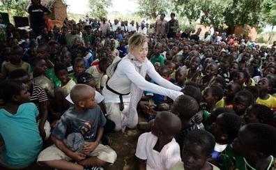 Madonna, en Malaui para inaugurar un hospital infantil