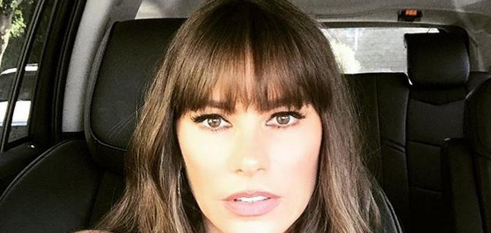 El sorprendente de look de Sofía Vergara a lo Chavo del 8