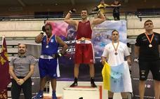 Aymer 'Kiki', subcampeón de España de boxeo en Murcia
