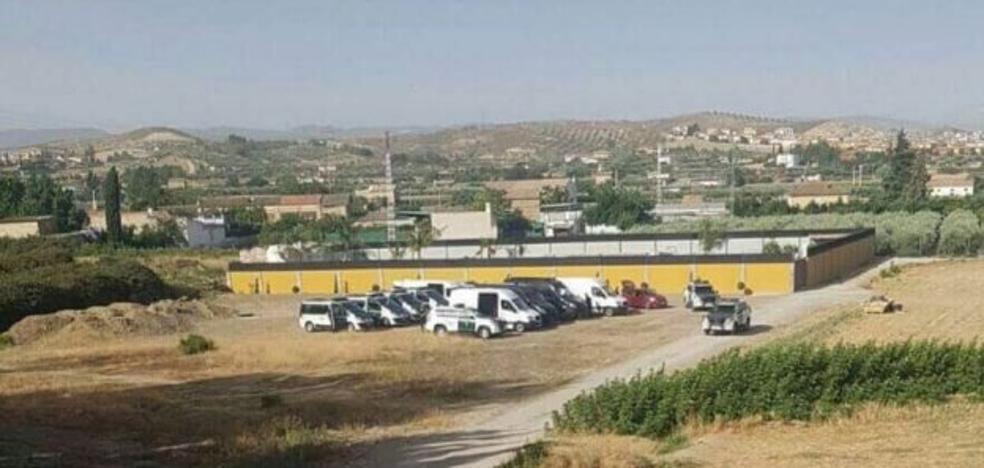 30 registros en Alhendín y Granada en una operación internacional antidroga