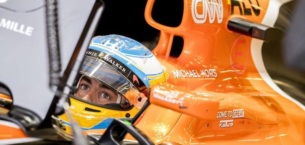 Alonso vive un efímero momento de gloria
