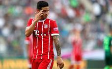 James debuta con el Bayern