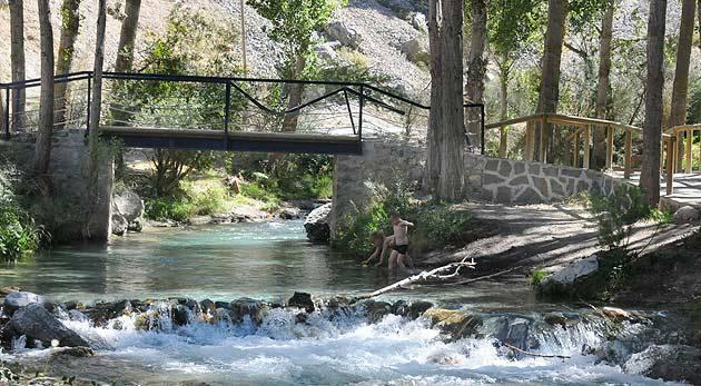 Cinco planes refrescantes por la provincia de Granada