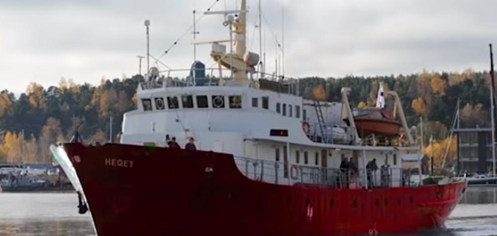 Zarpa el barco de la ultraderecha para bloquear a los inmigrantes en patera