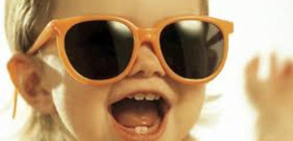 Así deben ser las gafas de sol para los más peques