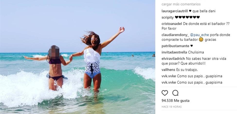La foto de la felicidad inmensa de Paula Echevarría