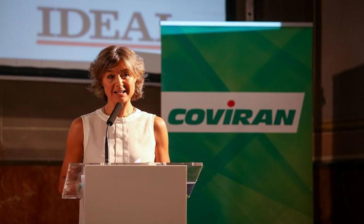 La ministra de Agricultura interviene en el Foro Agroalimentario organizado por Covirán e IDEAL