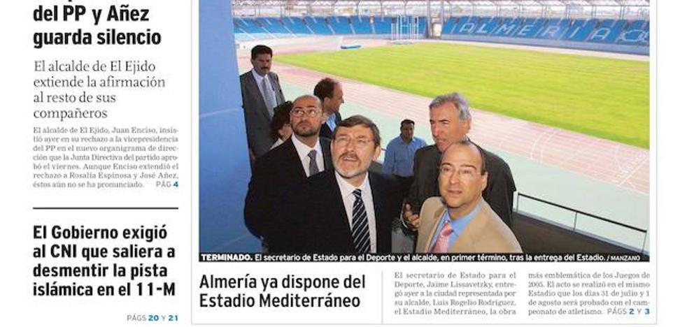 El Estadio de los Juegos Mediterráneos cumple años