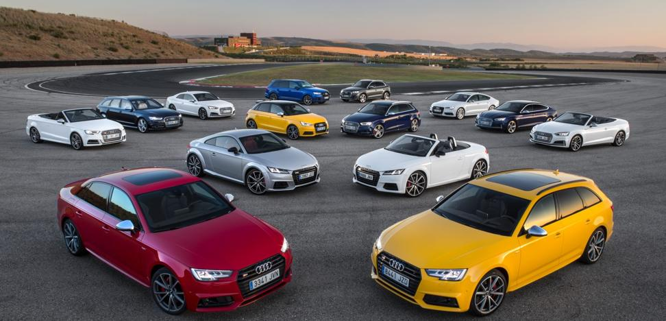 La gama S de Audi, placer de conducir