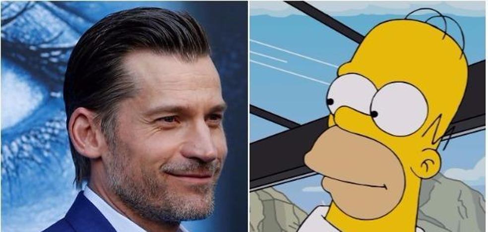 Jamie Lannister será la voz de un nuevo personaje en 'Los Simpson'