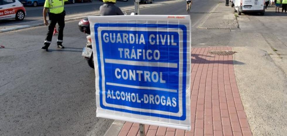 El consumo de drogas provoca ya más retiradas de carné que el alcohol al volante