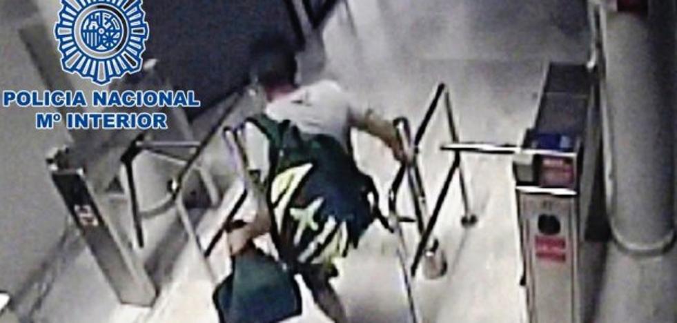 Dejan en libertad a un joven tras robar en dos gimnasios