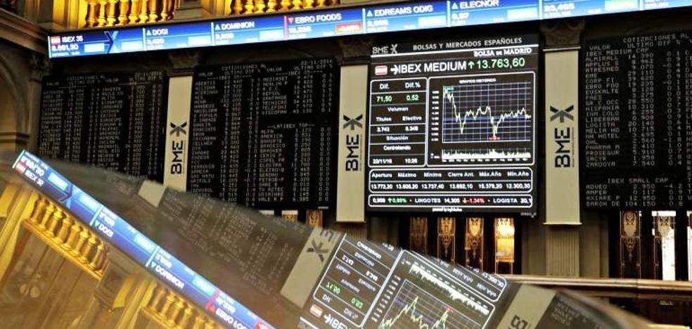 El Ibex cae un 2,14% en la semana y el euro consolida en máximos