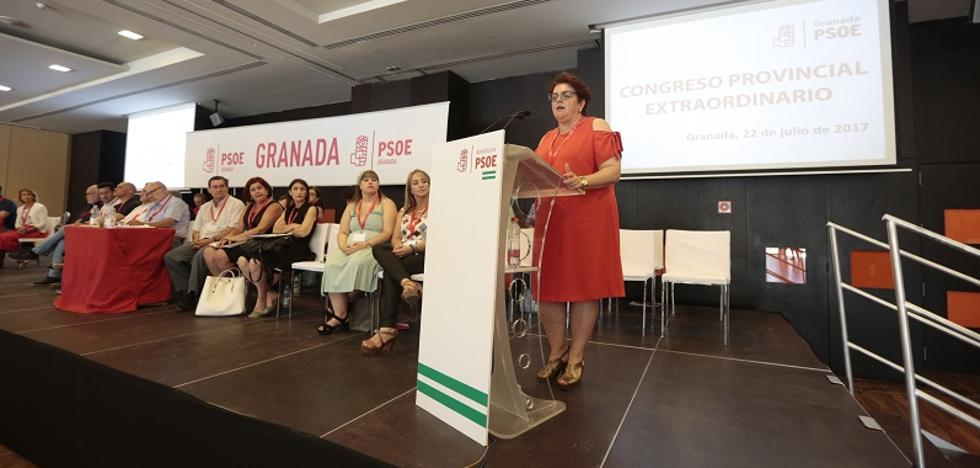 El PSOE de Granada aprueba por aclamación la lista para el Congreso Regional