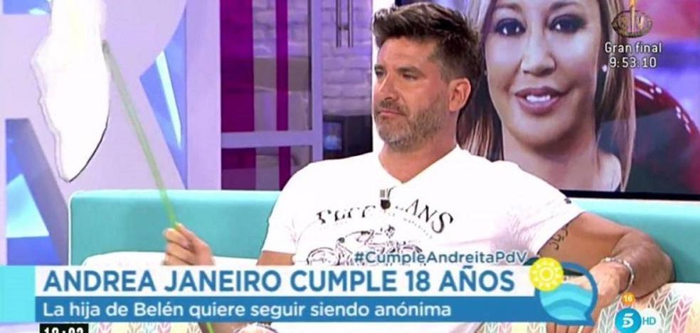Toño Sanchís carga contra Belén Esteban durante el cumpleaños de su hija