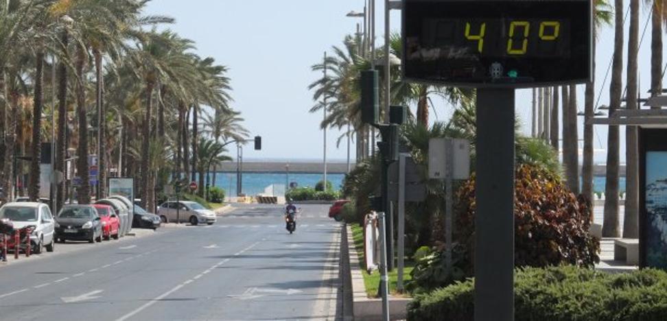 Almería registra en 2017 la primavera más calurosa de los últimos 49 años