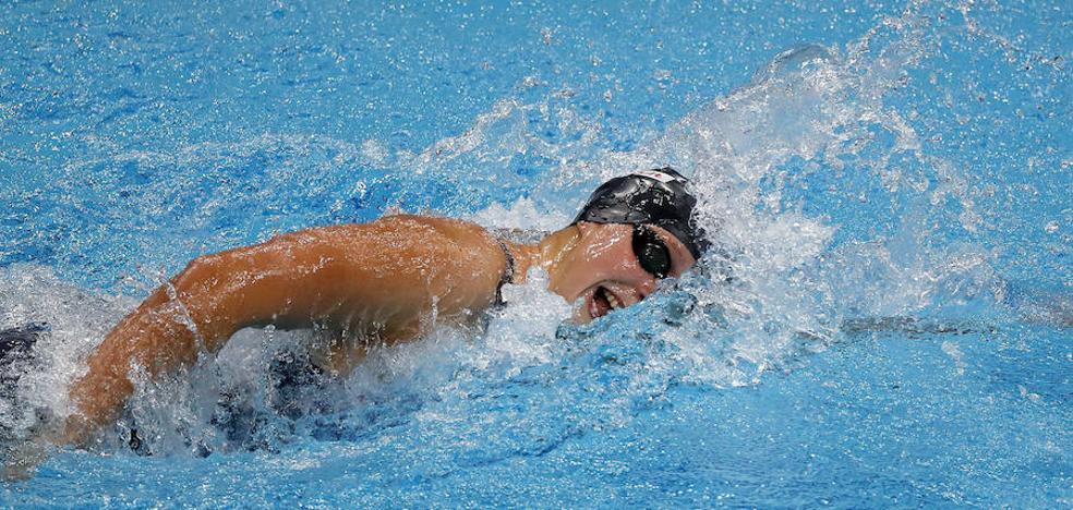 Ledecky suma sus dos primeros oros en Budapest