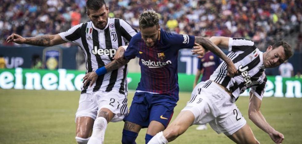 Neymar protagoniza la victoria del Barcelona ante la Juventus