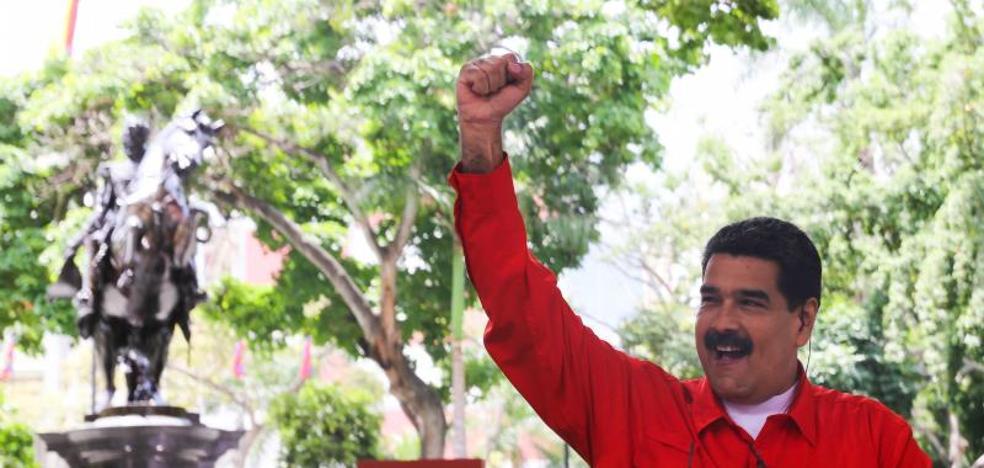 Maduro dice que todos los magistrados nombrados por el Parlamento irán presos