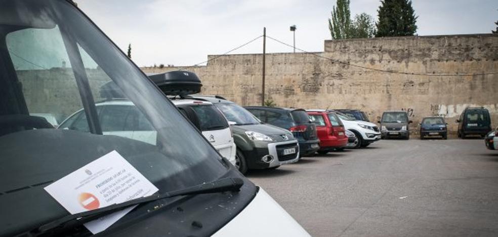 ¿Dónde aparcarán los cien coches de la Alberzana?