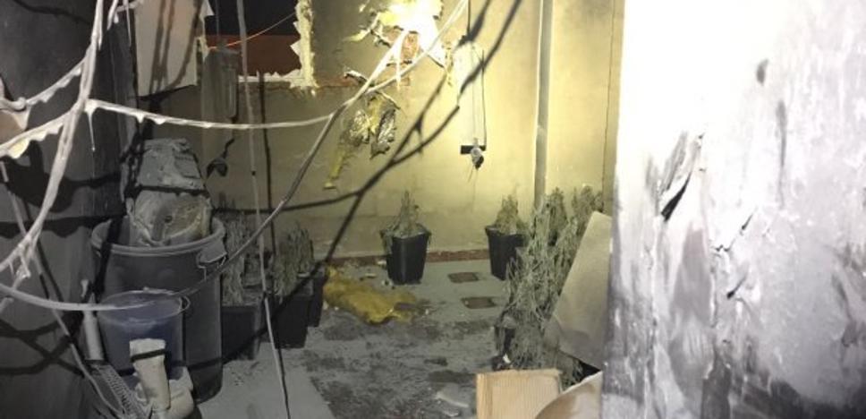 Desalojan un edificio entero por un incendio originado en una plantación de marihuana