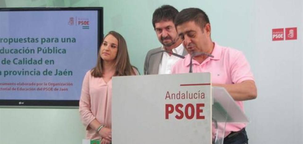 El PSOE pide un aumento de las plazas escolares de Infantil y fomentar la Formación Profesional