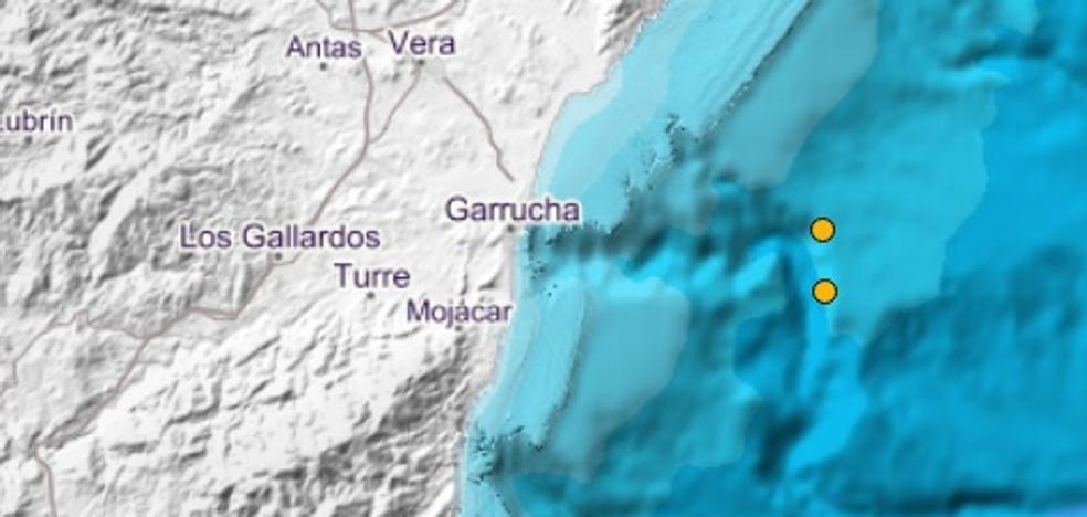 Un seísmo hace temblar a Garrucha