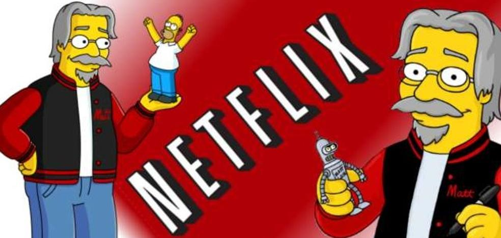 La sorprendente serie del creador de Los Simpson para Netflix