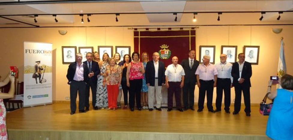 Homenaje a los alcaldes de Guarromán